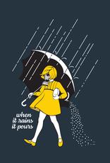 When it Rains it Pours Coaches Jacket
