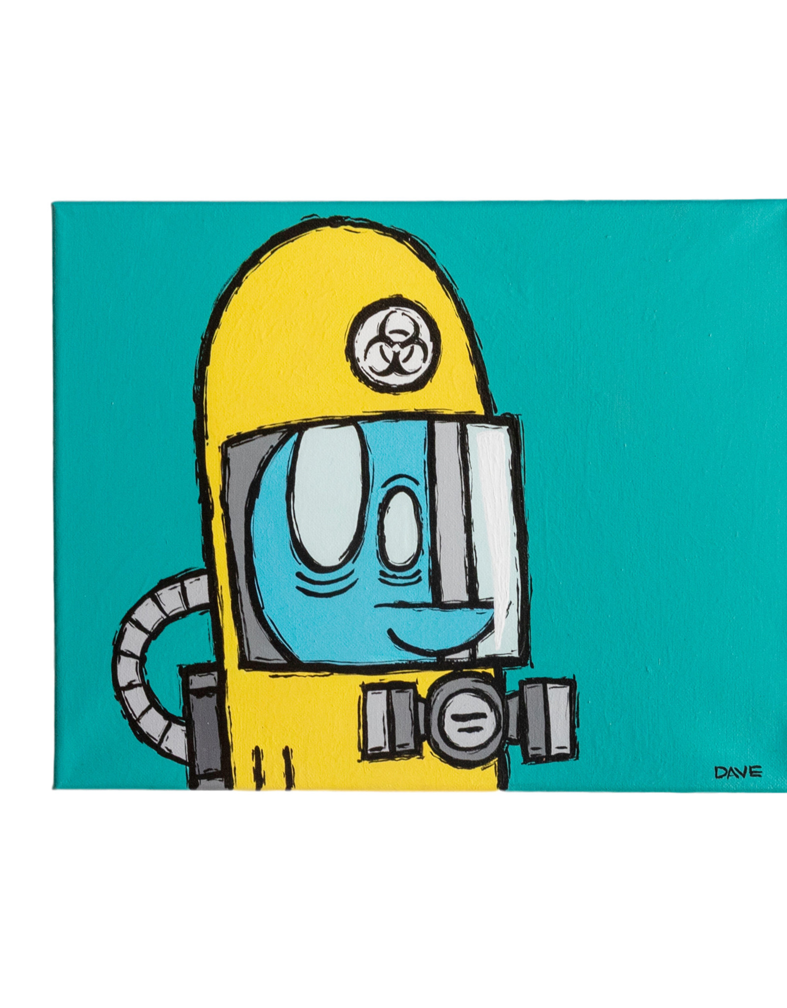 Dave Palmer Dave Palmer Original Artwork Biohazard Yeti 2020 11x14