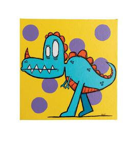 Dave Palmer Dino 18x18