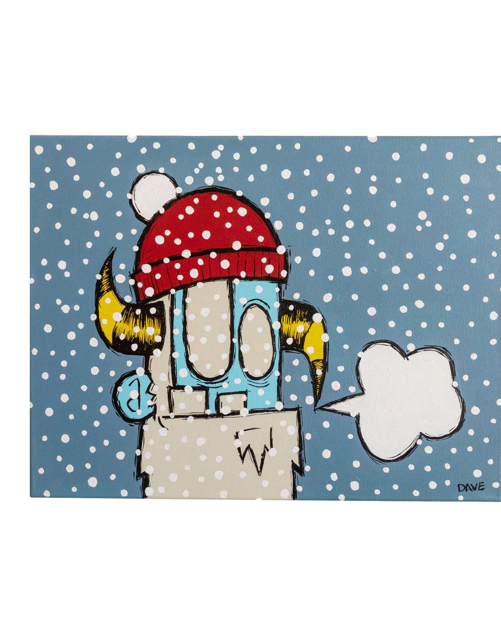 Dave Palmer Dave Palmer Original Artwork Snow Storm 18x24