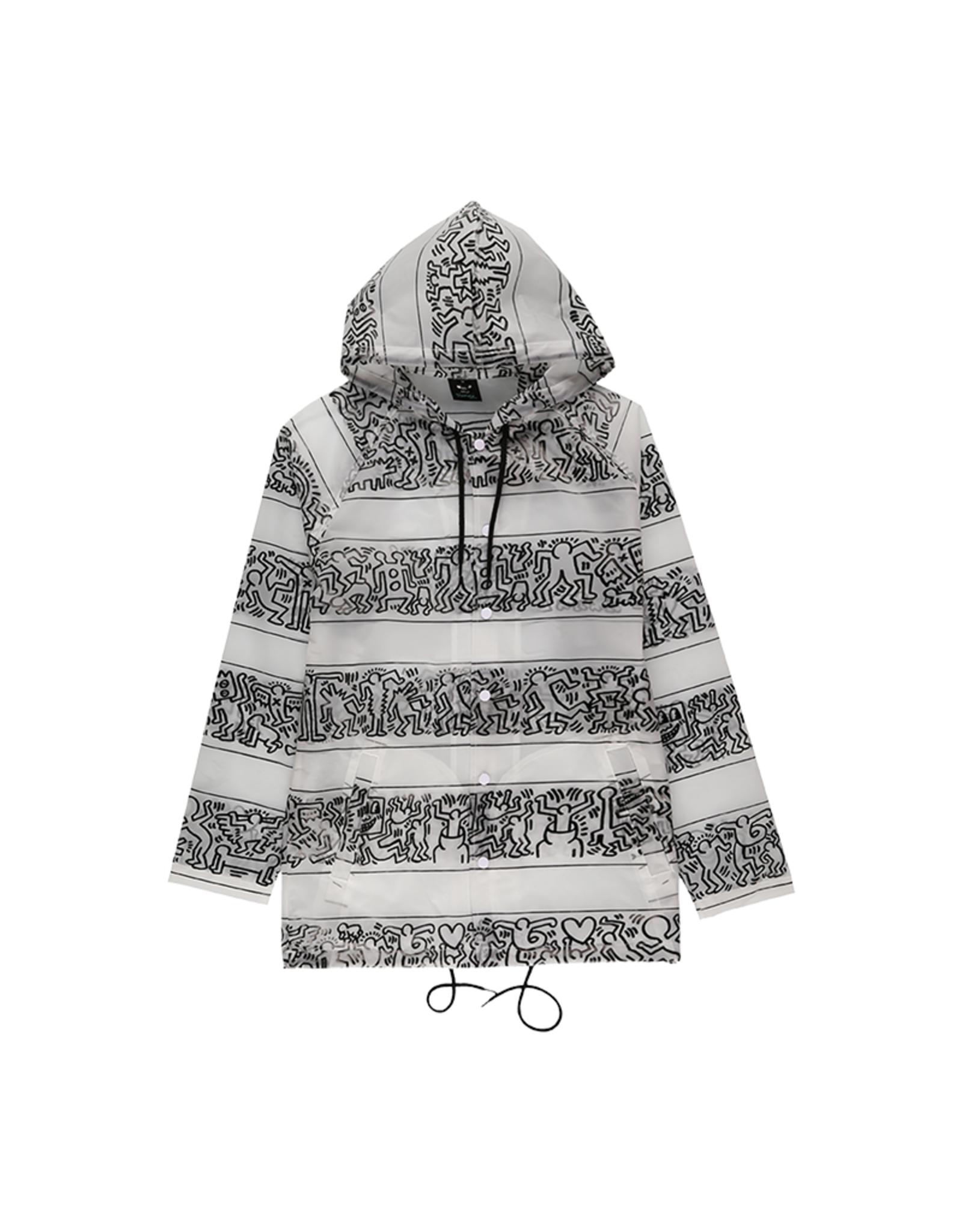 Diamond Supply Co. Diamond Supply x Keith Haring Stripe Rain Coat