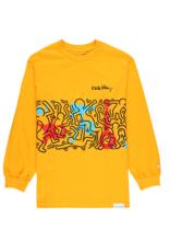 "Diamond Supply Co. Diamond Supply x Keith Haring ""Rhythm & Motion"" Long Sleeve"