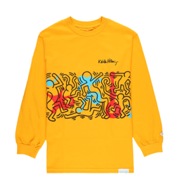 "Diamond Supply Co. Diamond Supply x Keith Haring ""Rhythm & Motion"" Long Sleeve"