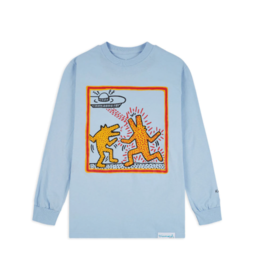 "Diamond Supply Co. Diamond Supply x Keith Haring ""Howlin' Wolf"" Long Sleeve"