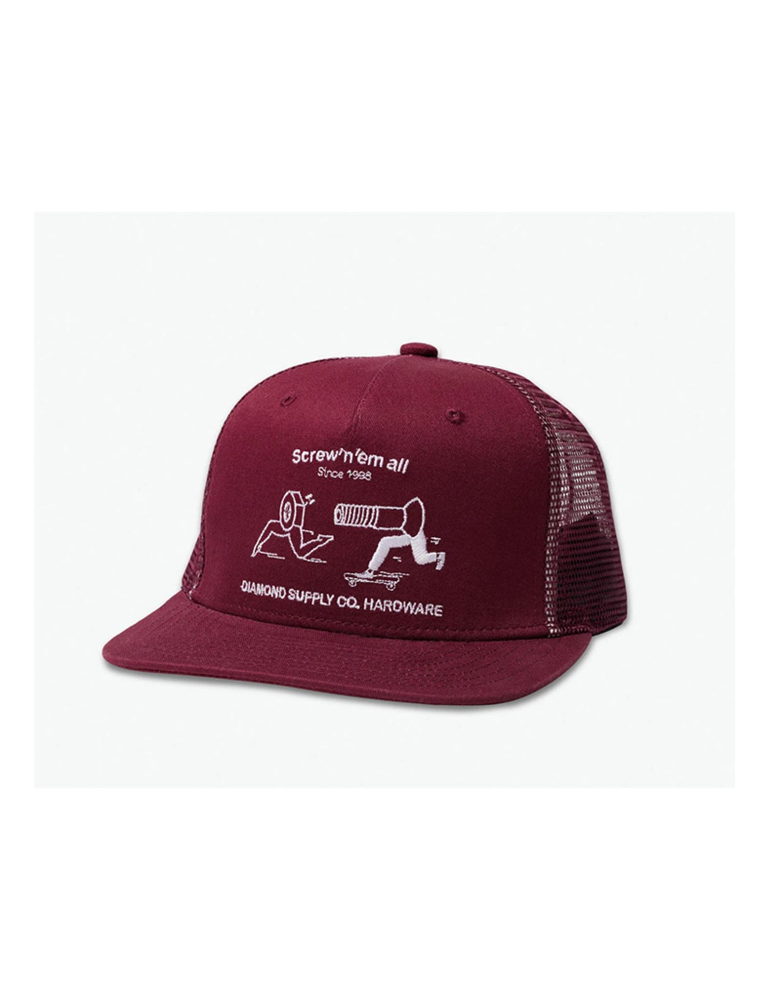 Diamond Supply Co. Diamond Supply SCREW 'EM ALL Trucker Hat