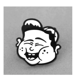 Fat Kid Lapel Pin