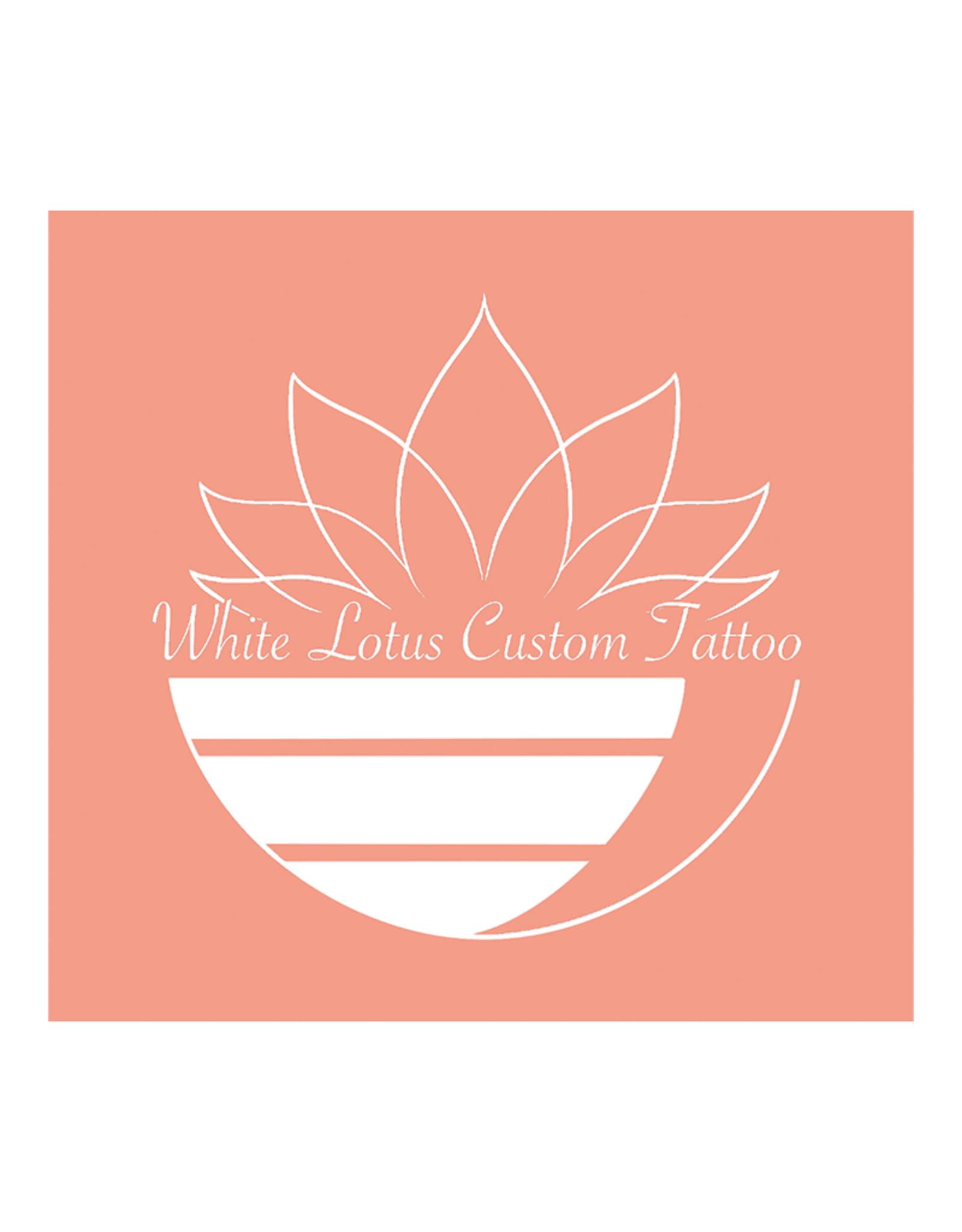 White Lotus Tattoo (Skull Rose Tee)