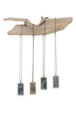 "Cameos - 1"" x 2"" Nickel Free Metal Pendants by Liz Holland"