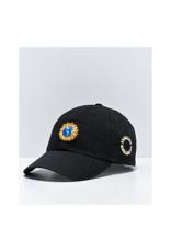 Primitive Earthy Dad Hat Black