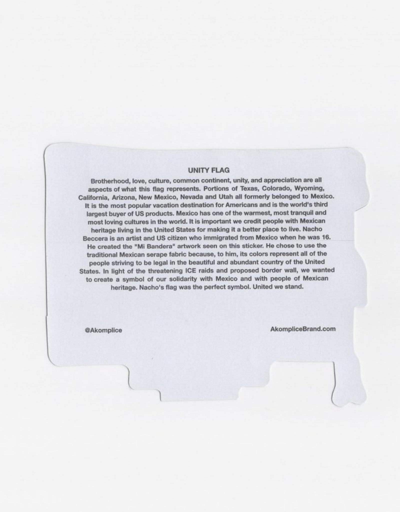 Akomplice Stickers