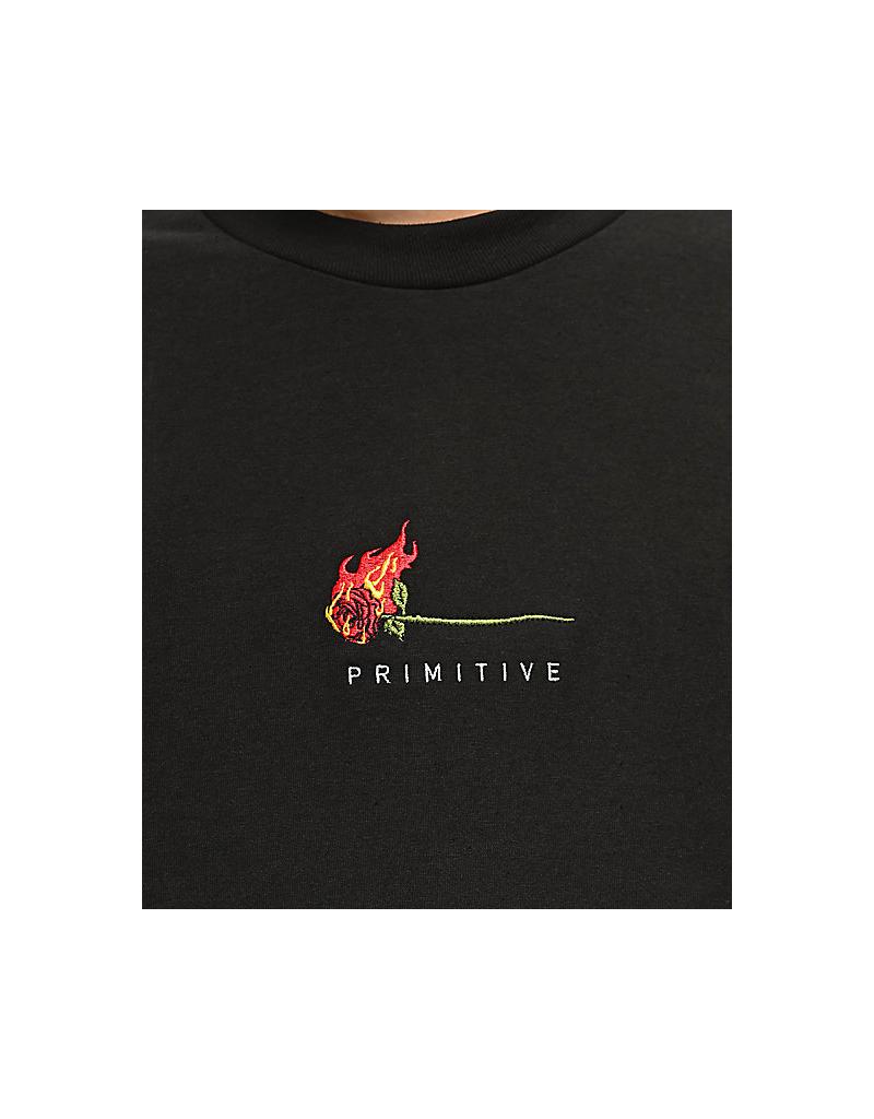Primitive Primitive Burning Rose Tee
