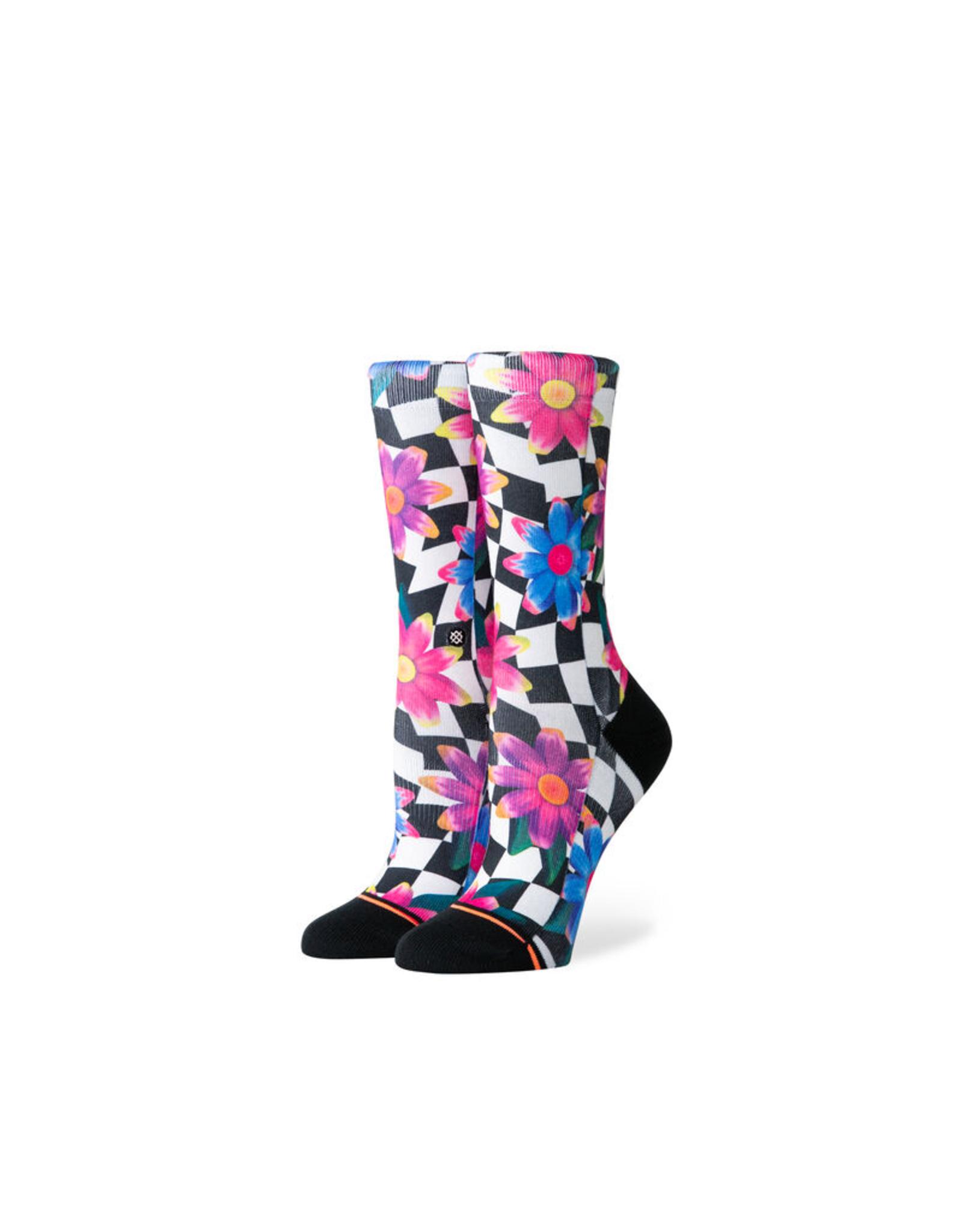 Crazy Daisy Crew Socks
