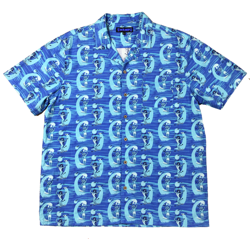 """Swamp Co. """"Enjoy The Ride"""" Button Up"""