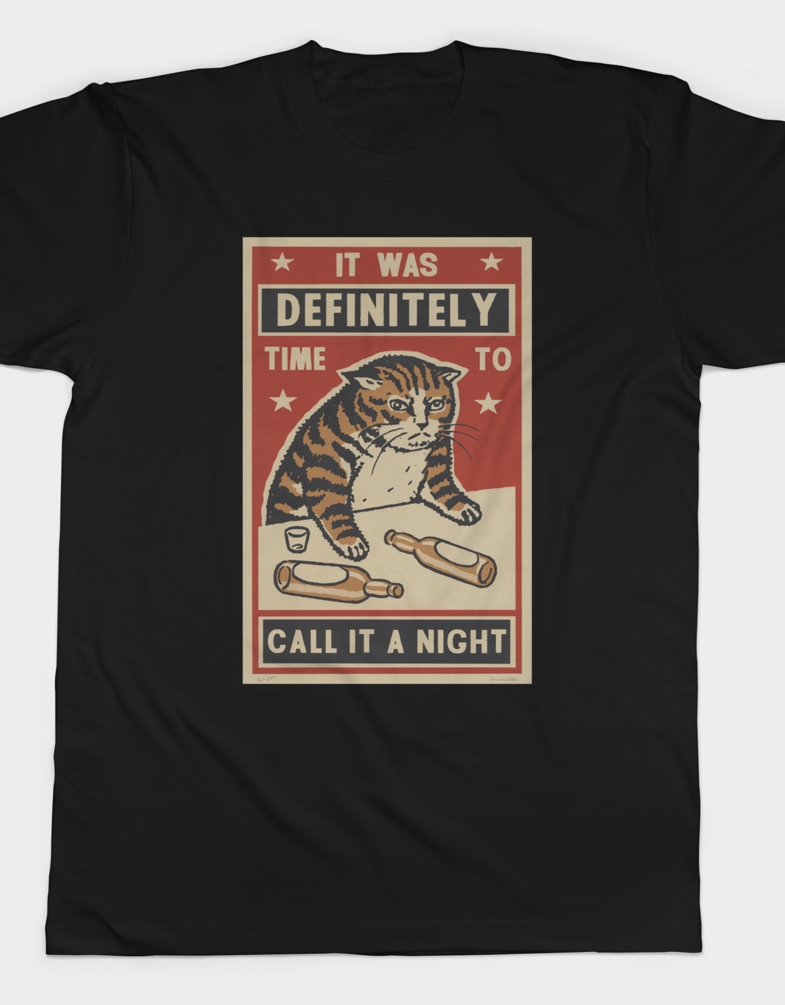 Call it a Night Mens Tee