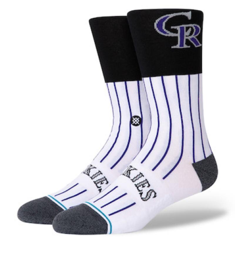 Stance Col Color Socks (Colorado Rockies)