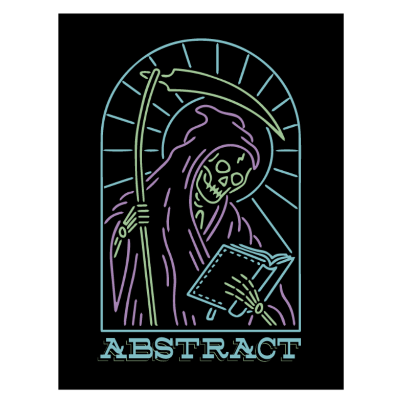 The Reading Reaper Sticker