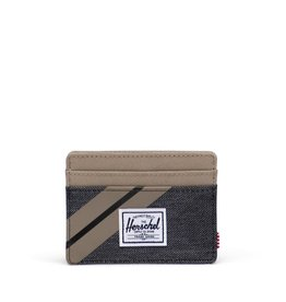 Charlie Wallet Timberwolf/Black Denim