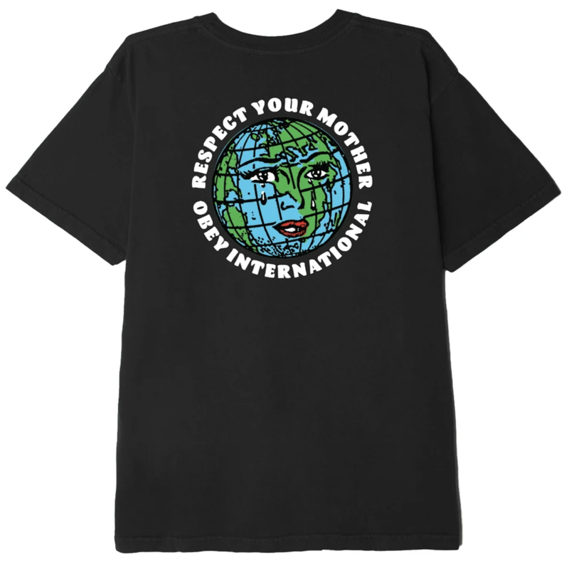 Obey Obey Respect Your Mother Tee
