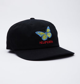 OBEY HELL ON EARTH 6 PANEL STRAPBACK