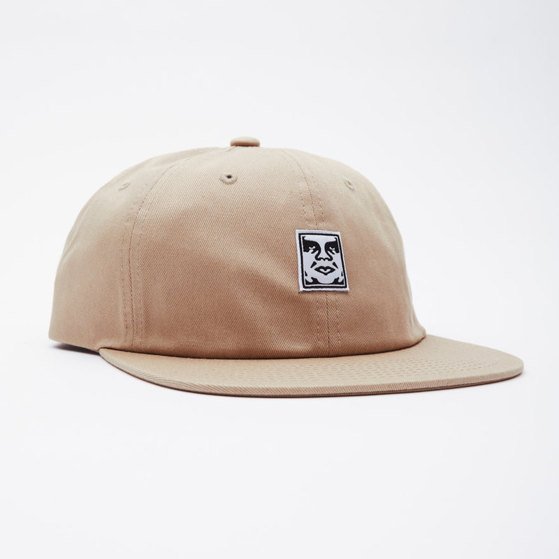 Obey Obey Icon face 6 panel strapback