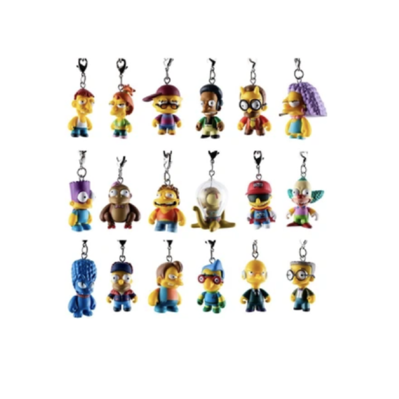 The Simpsons Crap-tacular Keychains