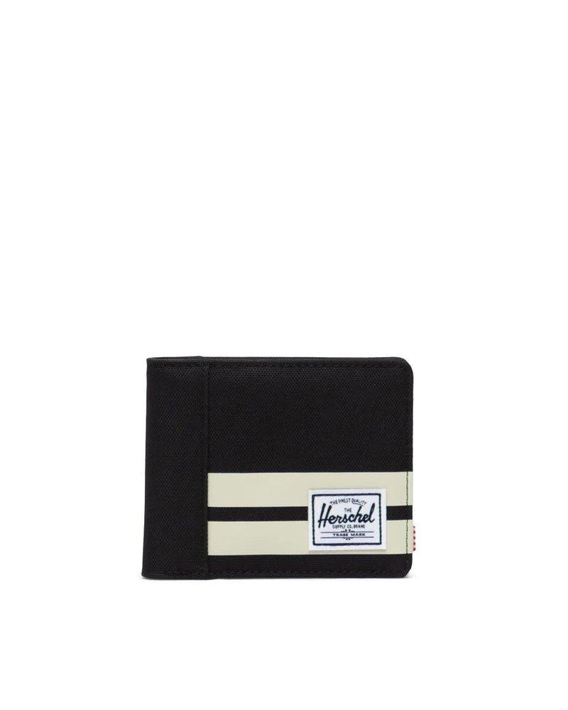Herschel Roy RFID Black/Birch Stripe