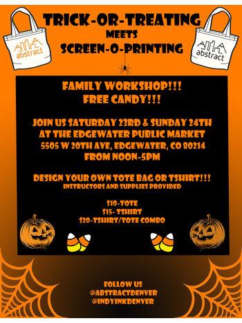 10/23 & 10/24 Print Workshop
