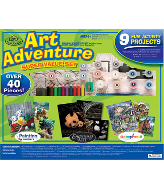 Royal & Langnickel ART ADVENTURE SET 9 PC ACTIVIT