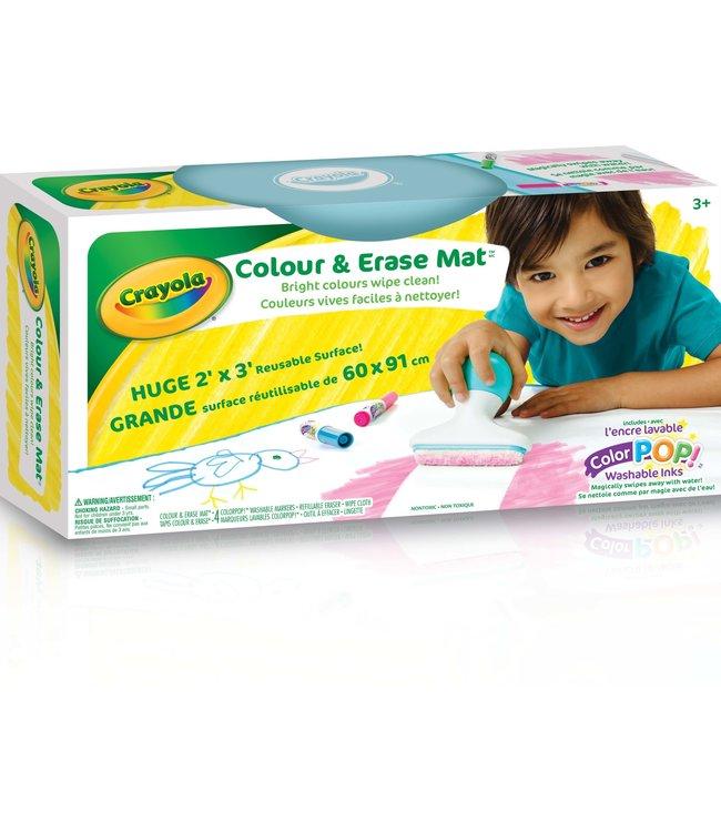 Crayola COLOUR & ERASE MAT,6/PDQ