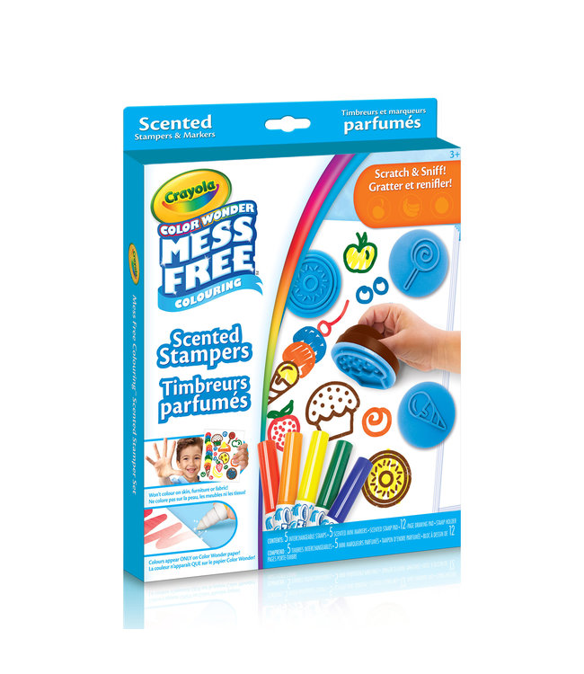 Crayola CW,SCENTED STAMPERS