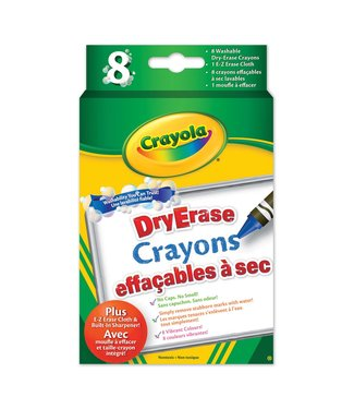 Crayola DE,CRAYONS,8CT