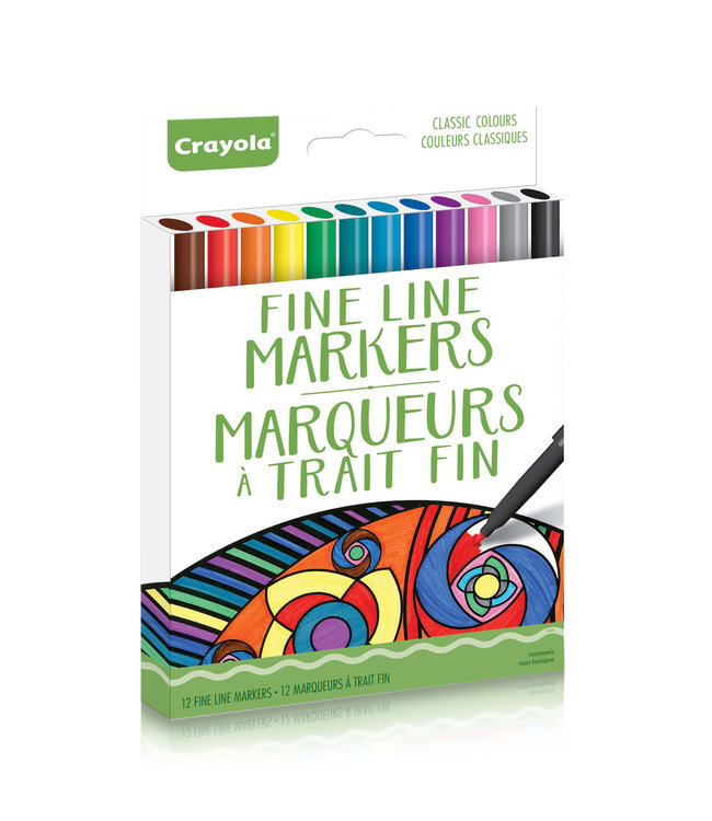 Crayola Markers 12CT Classic