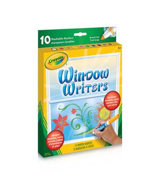 Crayola MKRS,10CT,WINDOW WRITERS