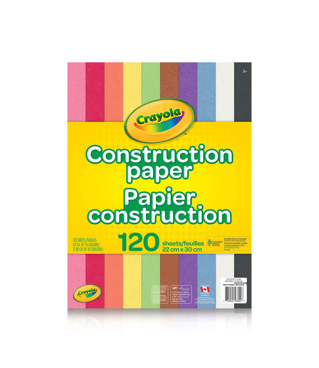 Crayola PA,120CT,CONSTRUCTION