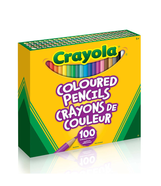 Crayola Coloured Pencils 100pcs