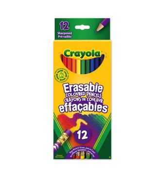 Crayola Pencils 12ct Erasable
