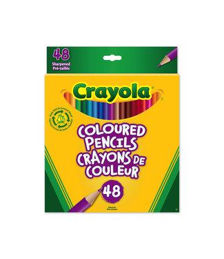 Crayola Pencils 48CT Coloured