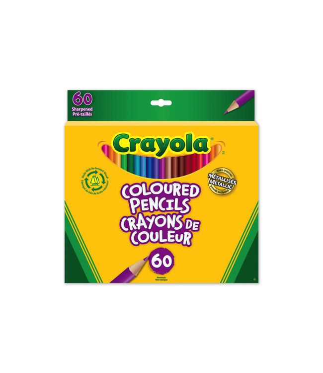 Crayola Pencils 60CT Coloured