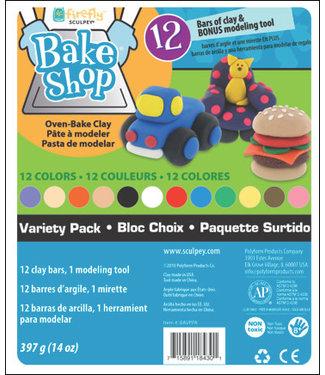 Sculpey BAKE SHOP VARIETY PACK