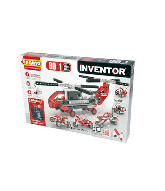 Engino Inventor 90 Models Motorized Set - Multi