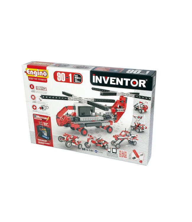 Engino Inventor 90 Models Motorized Set - Multi