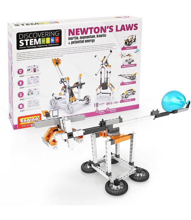 Engino Stem newton's laws: Inertia,momentum,kinetic&p