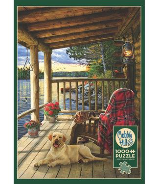 Cobble Hill Cabin Porch