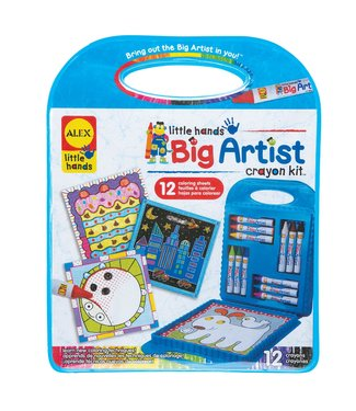 Alex Big Artist-crayon kit