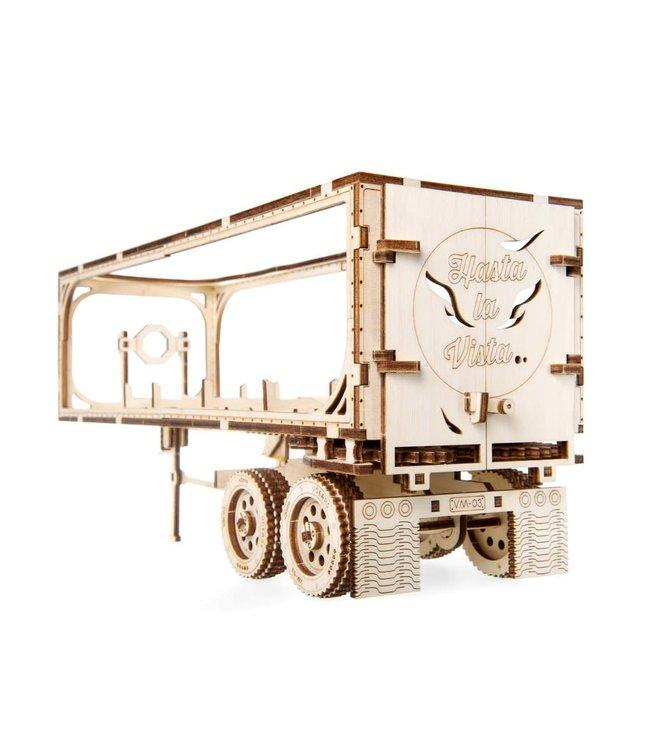 UGears Heavy Boy Truck Trailor