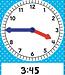 Magnetic Foam Geared Clock: Large