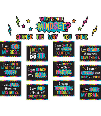 Teacher Created Resources What is Your Mindset? Bulletin Board