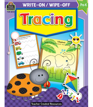 Teacher Created Resources Write-On/Wipe-Off: Tracing