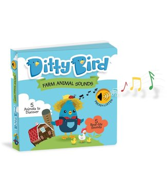 Ditty Bird Ditty Bird Farm Animal Sounds Book