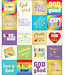 Words of Praise Shape Stickers